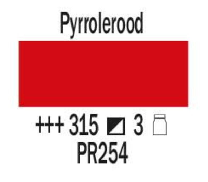 Amsterdam expert 150ml acrylverf 315 Pyrrolerood