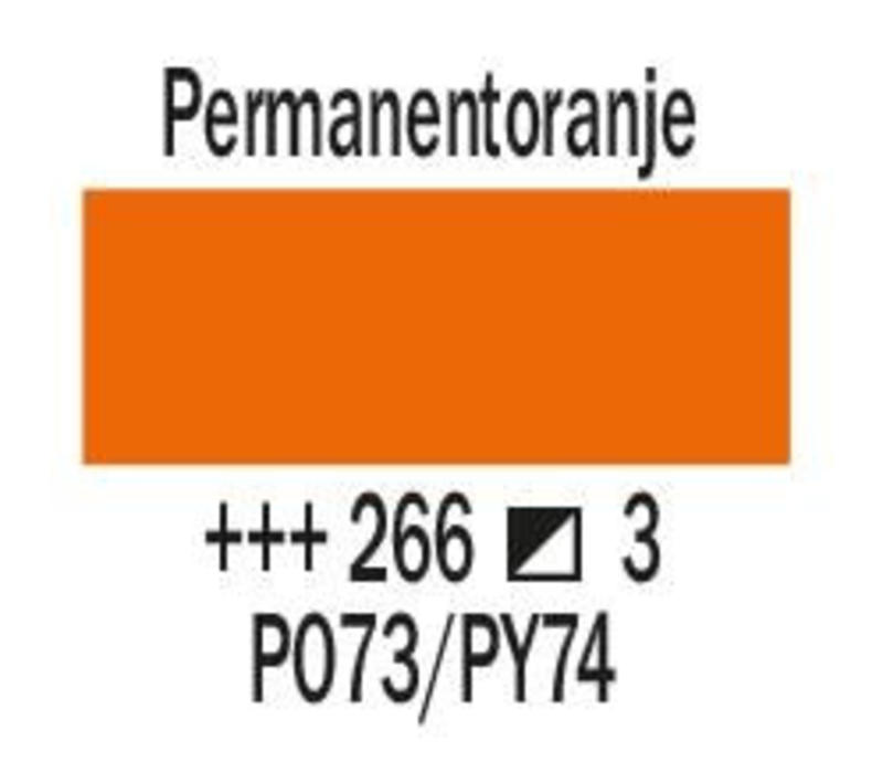 Amsterdam expert 75ml acrylverf 266 Permanentoranje