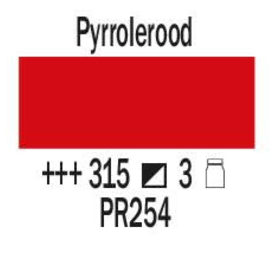 Amsterdam expert 75ml acrylverf 315 Pyrrolerood