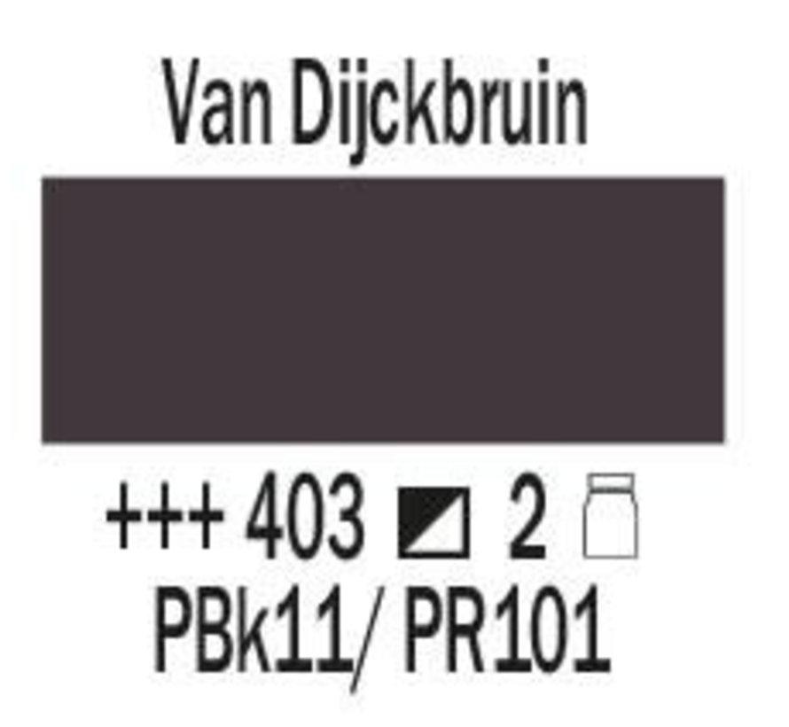 Amsterdam expert 75ml acrylverf 403 Van Dijckbruin