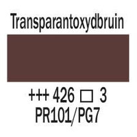 Amsterdam expert 150ml acrylverf 426 Transparantoxydbruin