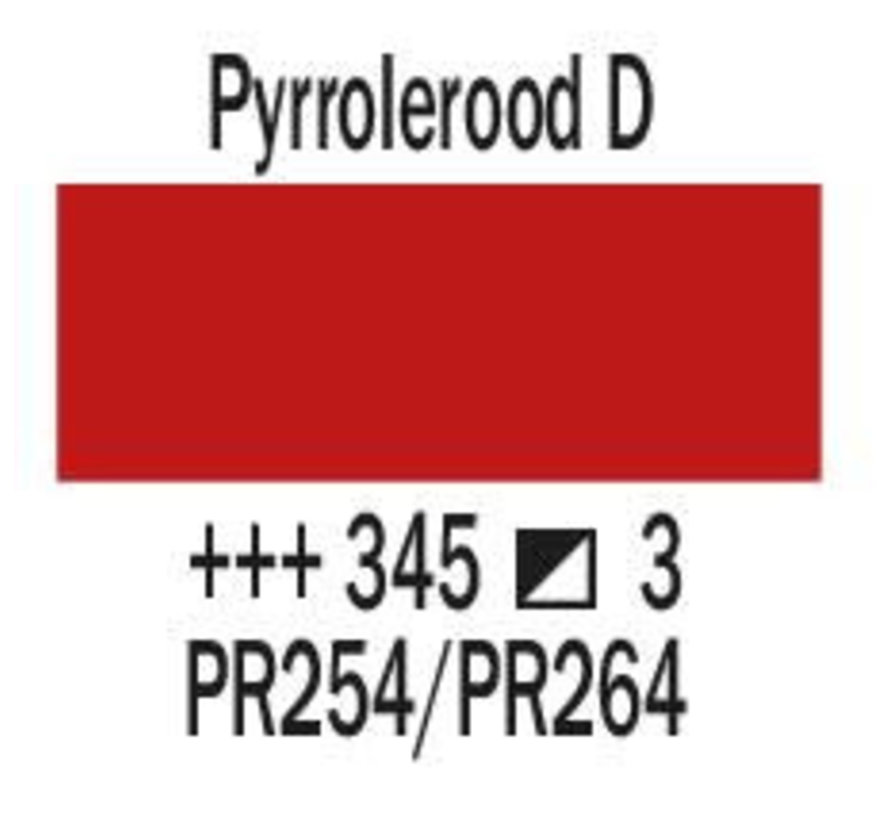 Amsterdam expert 75ml acrylverf 345 Pyrrolerood donker