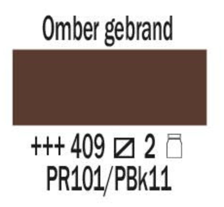 Amsterdam expert 75ml acrylverf 409 Omber gebrand