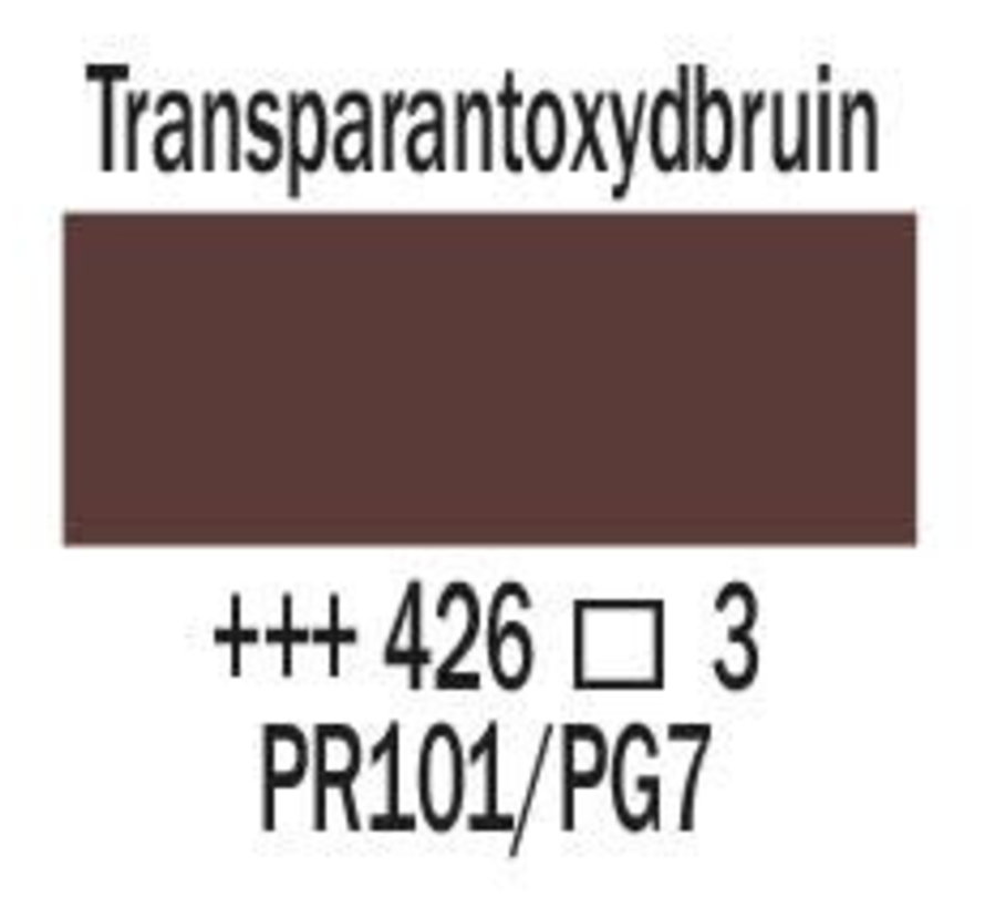Amsterdam expert 75ml acrylverf 426 Transparantoxydbruin
