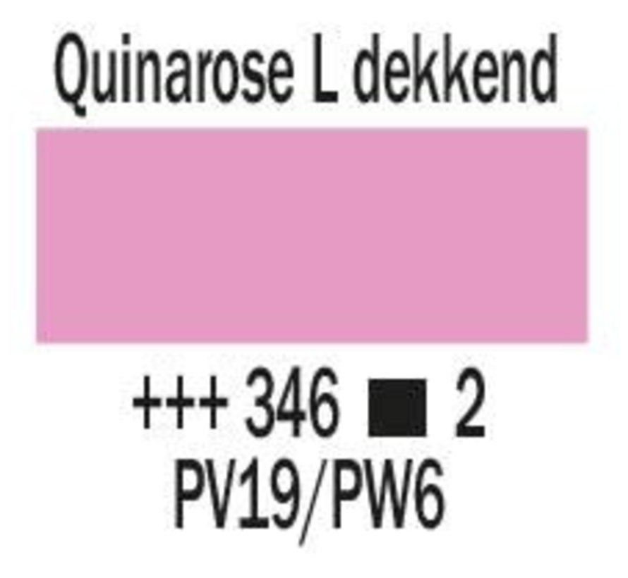 Amsterdam expert 75ml acrylverf 346 Quinarose licht dekkend