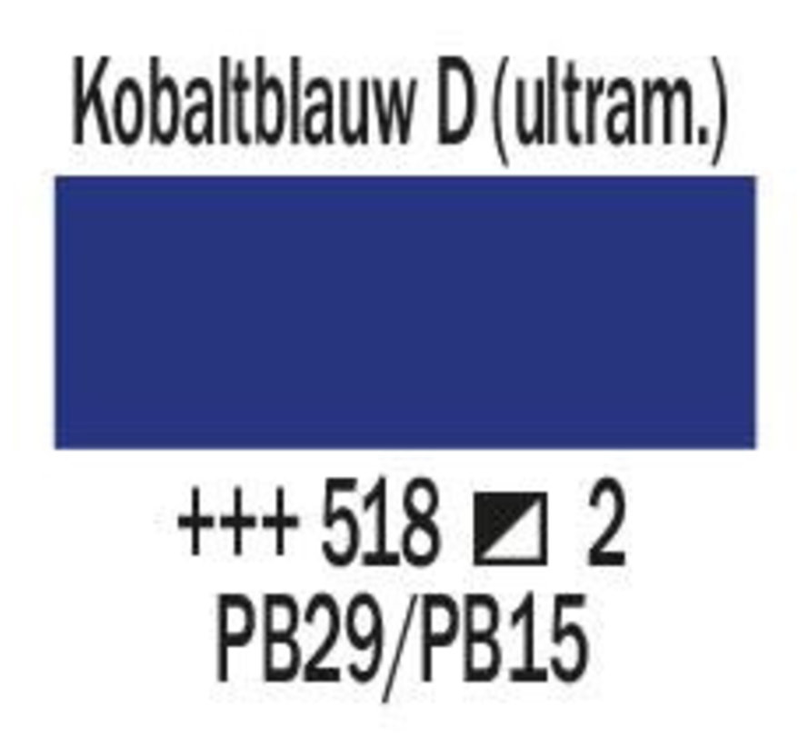 Amsterdam expert 75ml acrylverf 518 Kobaltblauw donker ultramar