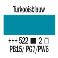 Amsterdam expert 150ml acrylverf 522 Turkooisblauw