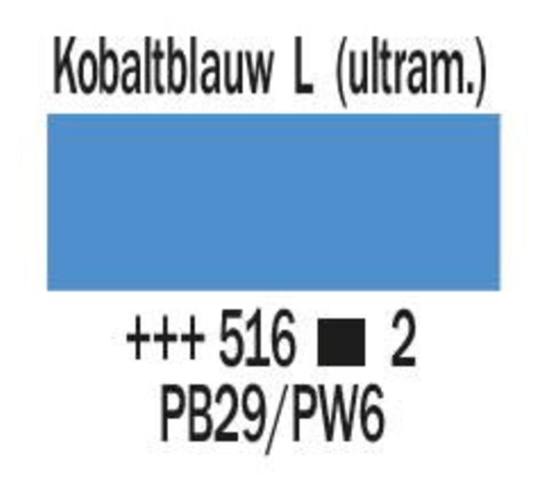 Amsterdam expert 150ml acrylverf 516 Kobaltblauw licht ultram.