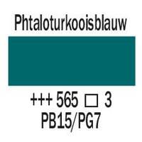 Amsterdam expert 150ml acrylverf 565 Phtaloturkooisblauw