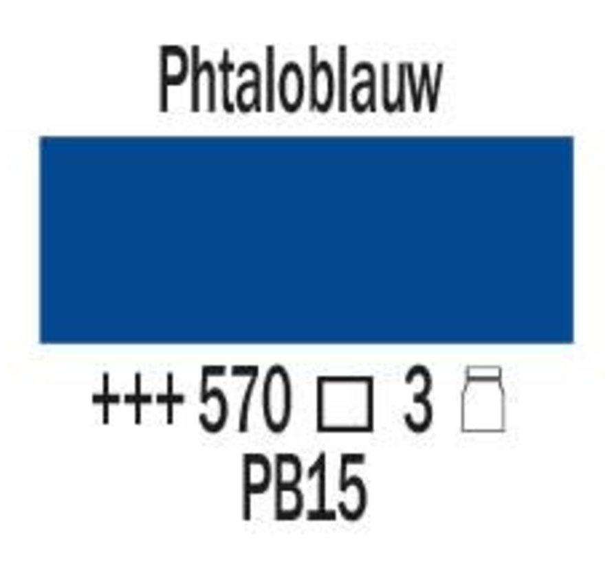 Amsterdam expert 75ml acrylverf 570 Phtaloblauw