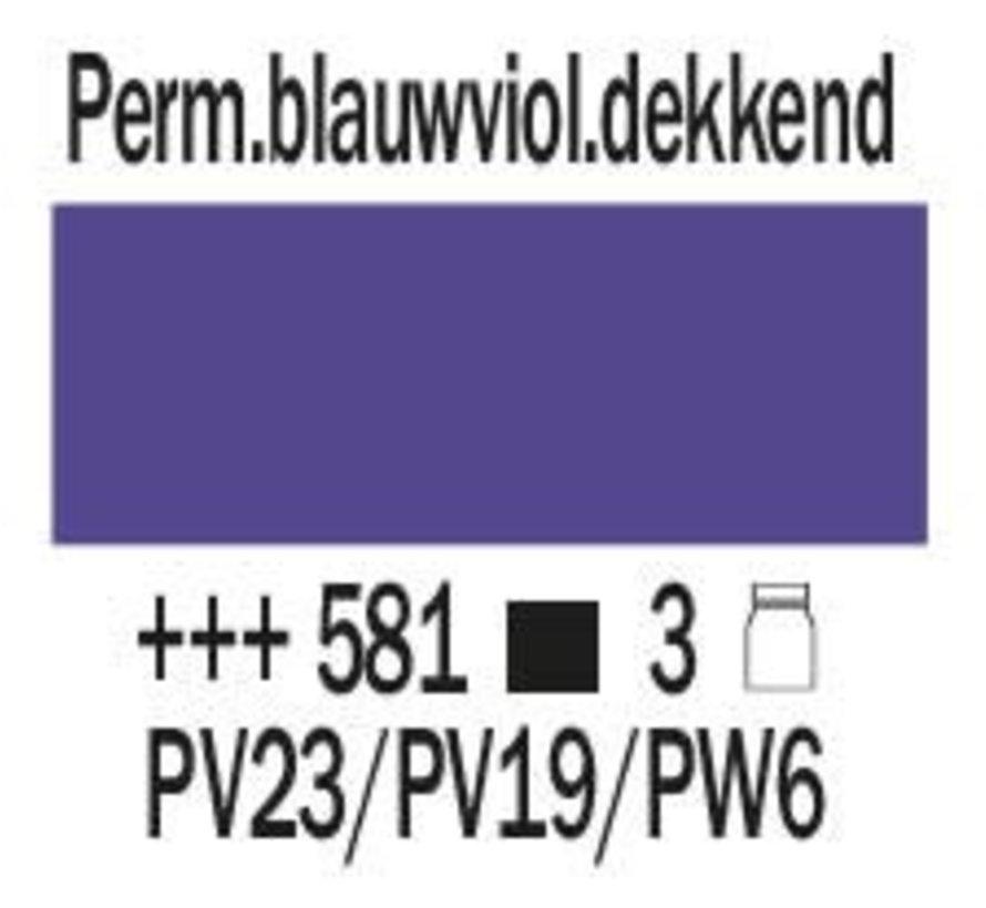 Amsterdam expert 75ml acrylverf 581 Perm. blauwviolet dekkend