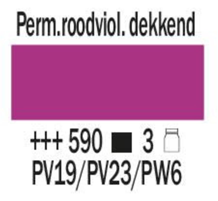Amsterdam expert 75ml acrylverf 590 Perm.roodviolet dekkend