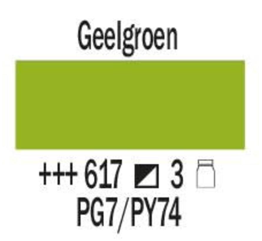 Amsterdam expert 75ml acrylverf 617 Geelgroen