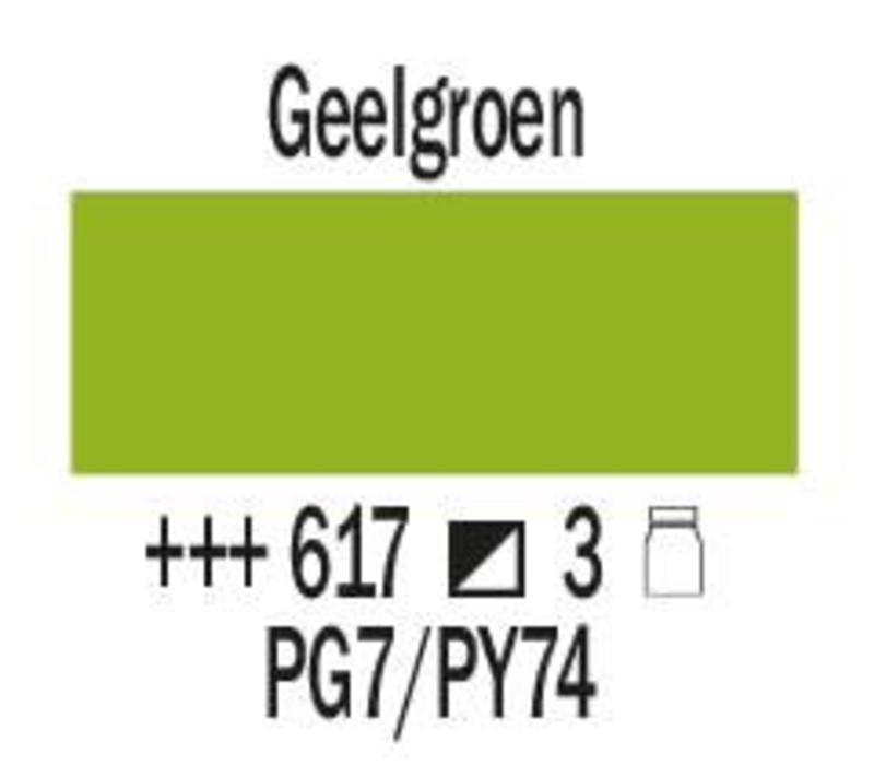 Amsterdam expert 150ml acrylverf 617 Geelgroen