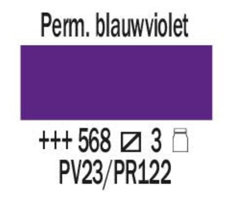 Amsterdam expert 150ml acrylverf 568 Permanentblauwviolet