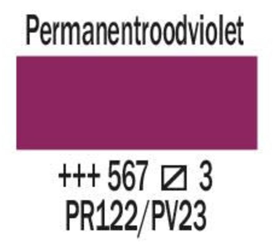 Amsterdam expert 75ml acrylverf 567 Permanentroodviolet