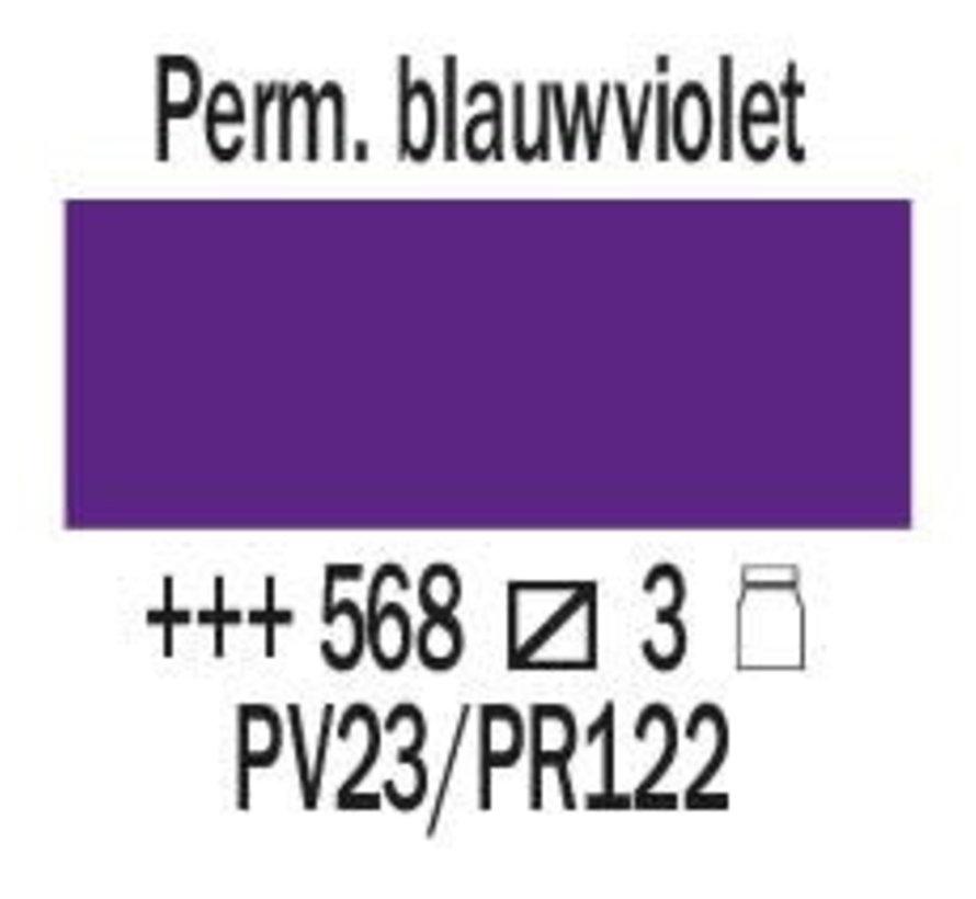 Amsterdam expert 75ml acrylverf 568 Permanentblauwviolet