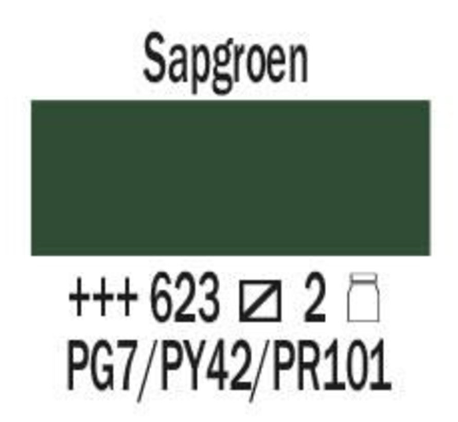 Amsterdam expert 75ml acrylverf 623 Sapgroen
