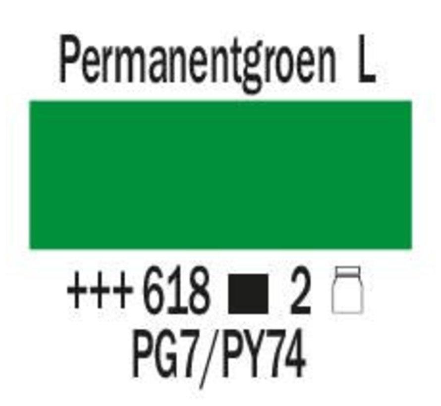 Amsterdam expert 75ml acrylverf 618 Permanentgroen licht