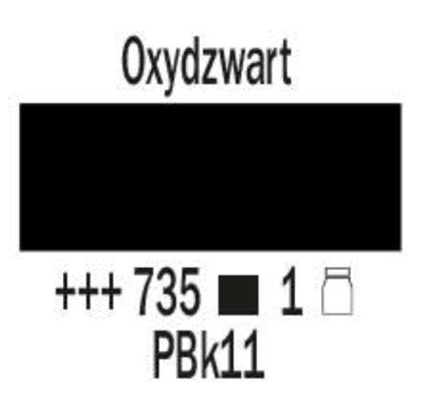 Amsterdam expert 75ml acrylverf 735 Oxydzwart