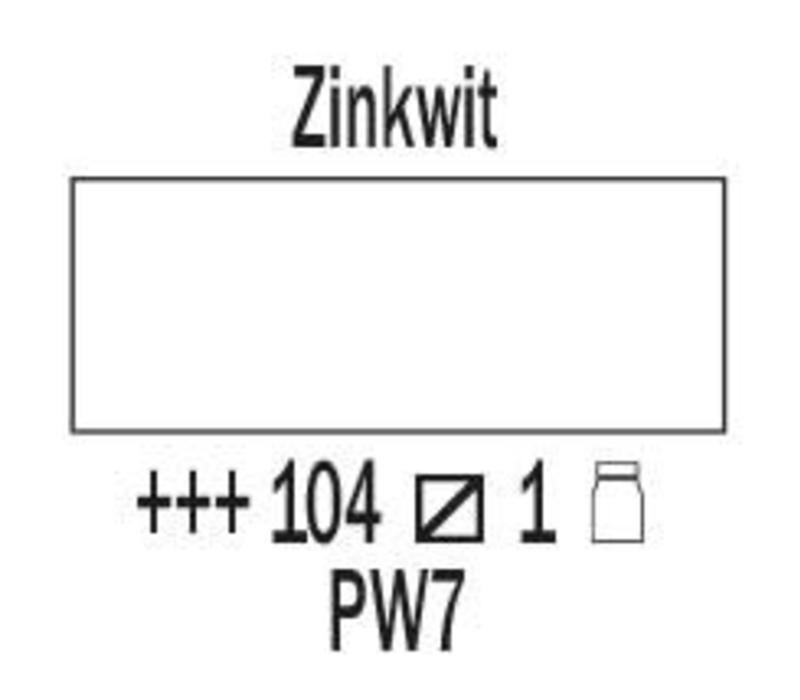 Amsterdam expert 150ml acrylverf 104 Zinkwit