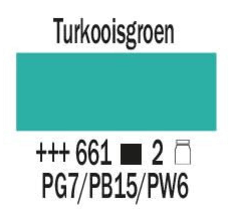 Amsterdam expert 150ml acrylverf 661 Turkooisgroen