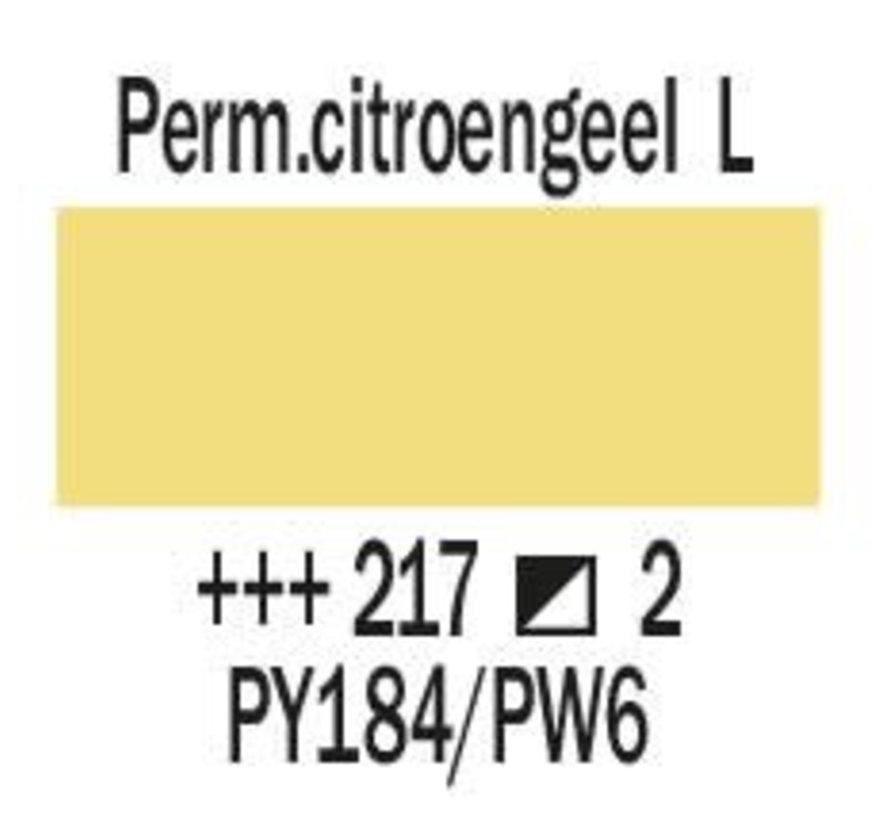 Amsterdam expert 150ml acrylverf 217 Perm.citroengeel licht