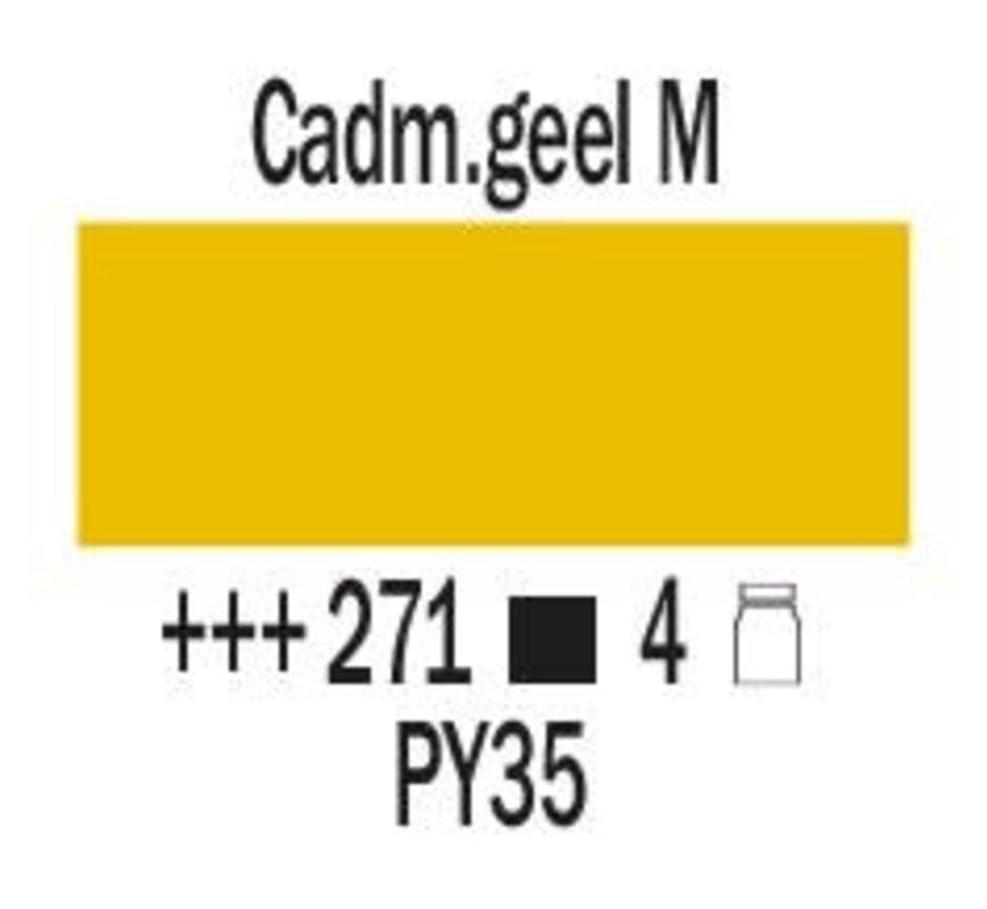 Amsterdam expert 75ml acrylverf 271 Cadmiumgeel middel
