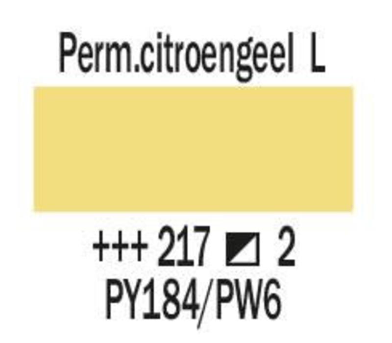 Amsterdam expert 75ml acrylverf 217 Perm.citroengeel licht