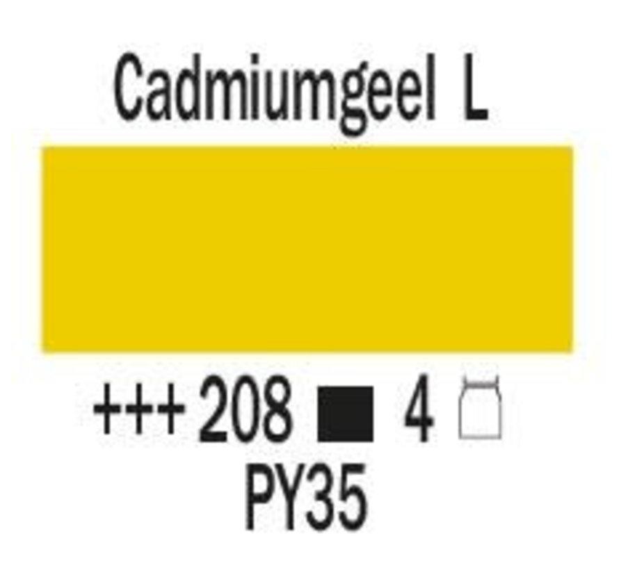 Amsterdam expert 75ml acrylverf 208 Cadmium geel licht