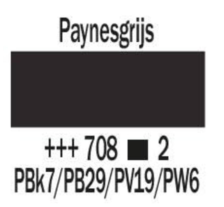 Amsterdam expert 150ml acrylverf 708 Paynesgrijs