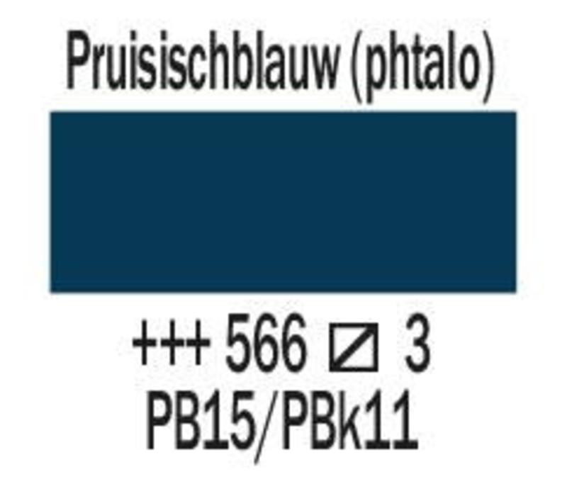 Amsterdam expert 150ml acrylverf 566 Pruissischblauw phtalo
