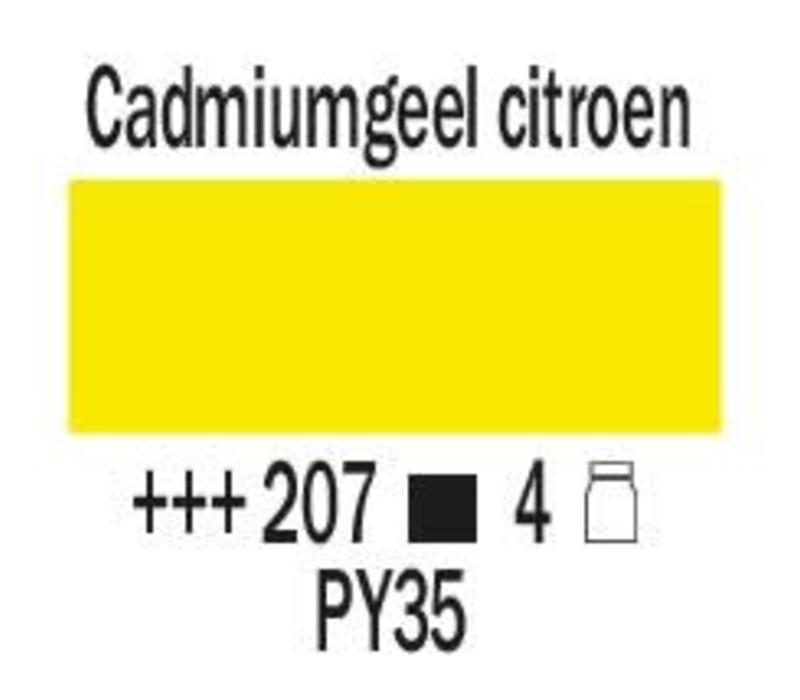 Amsterdam expert 75ml acrylverf 207 Cadmium geel citroen