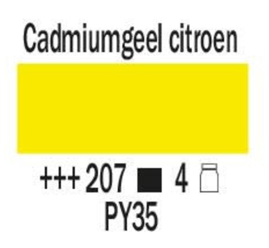 Amsterdam expert 150ml acrylverf 207 Cadmium geel citroen