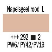 Amsterdam expert 150ml acrylverf 292 Napelsgeel rood licht