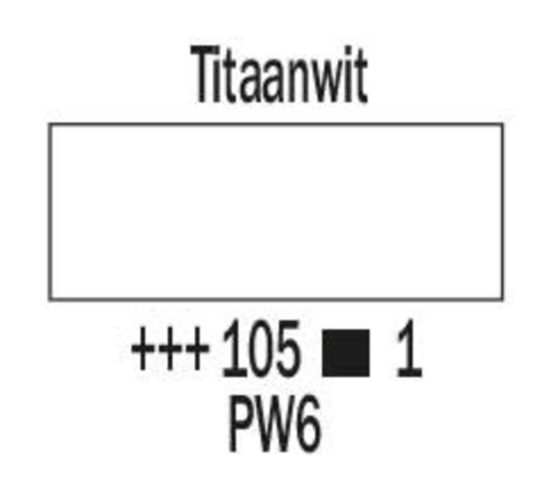 Amsterdam expert 75ml acrylverf 105 Titaanwit