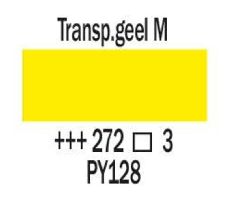 Amsterdam expert 150ml acrylverf 272 Transparantgeel middel