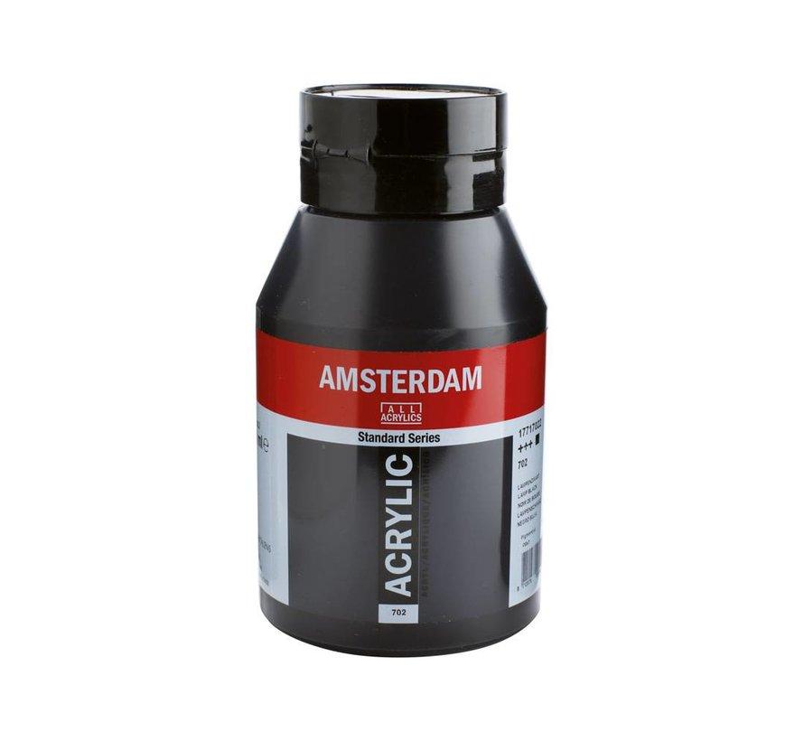 Amsterdam acrylverf 1 liter standard 702 Lampenzwart