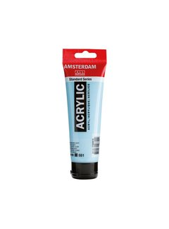 Amsterdam Amsterdam acrylverf 120ml standard 551 Hemelsblauw licht