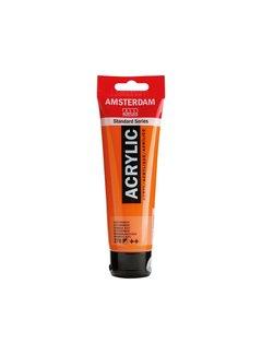 Amsterdam Amsterdam acrylverf 120ml standard 276 Azo oranje