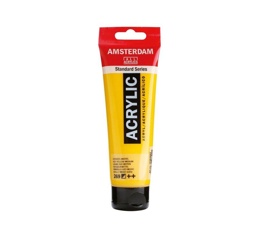 Amsterdam acrylverf 120ml standard 269 Azogeel middel