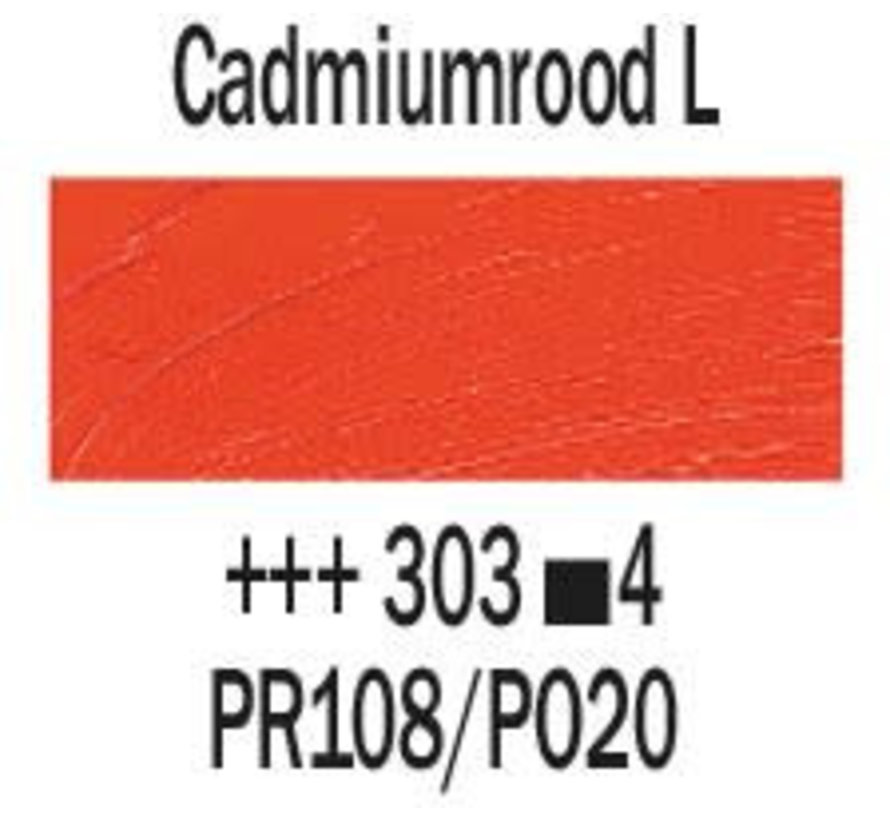 Rembrandt 40ml olieverf 303 Cadmiumrood licht