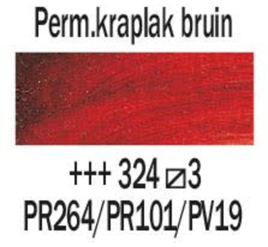 Rembrandt 40ml olieverf 324 Permanentkraplak bruin