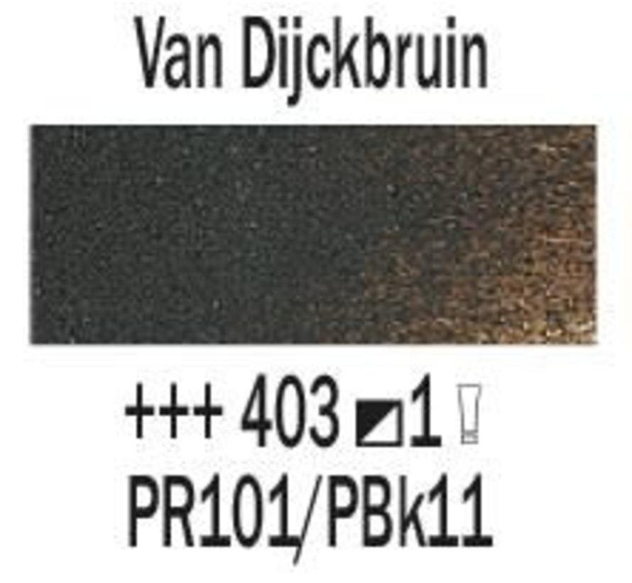 Rembrandt 40ml olieverf 403 Van Dijckbruin