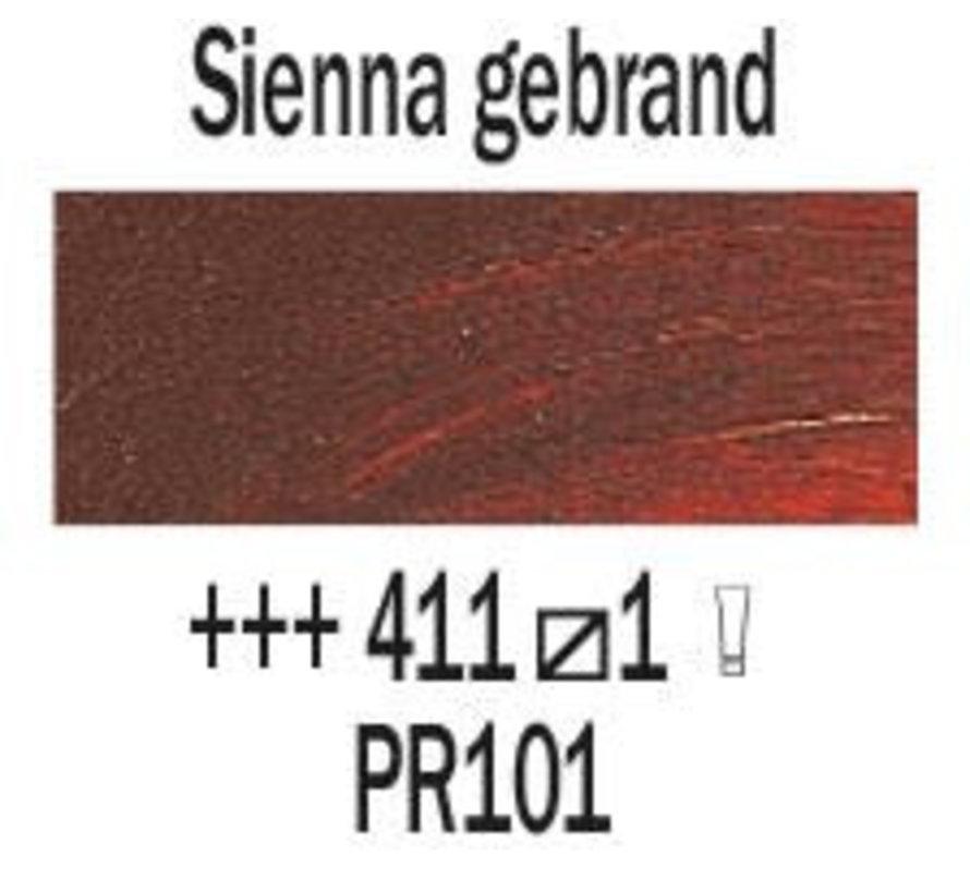 Rembrandt 40ml olieverf 411 Sienna gebrand