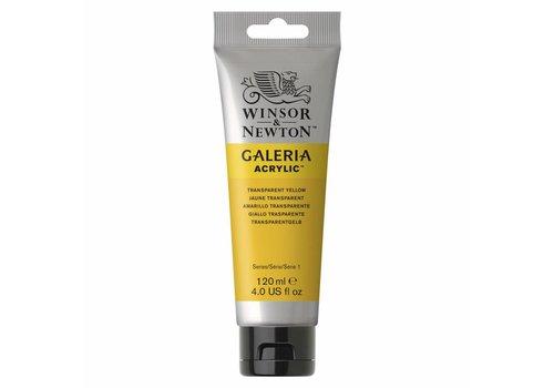 Winsor & Newton Galeria acrylverf 120ml Transparent Yellow 653