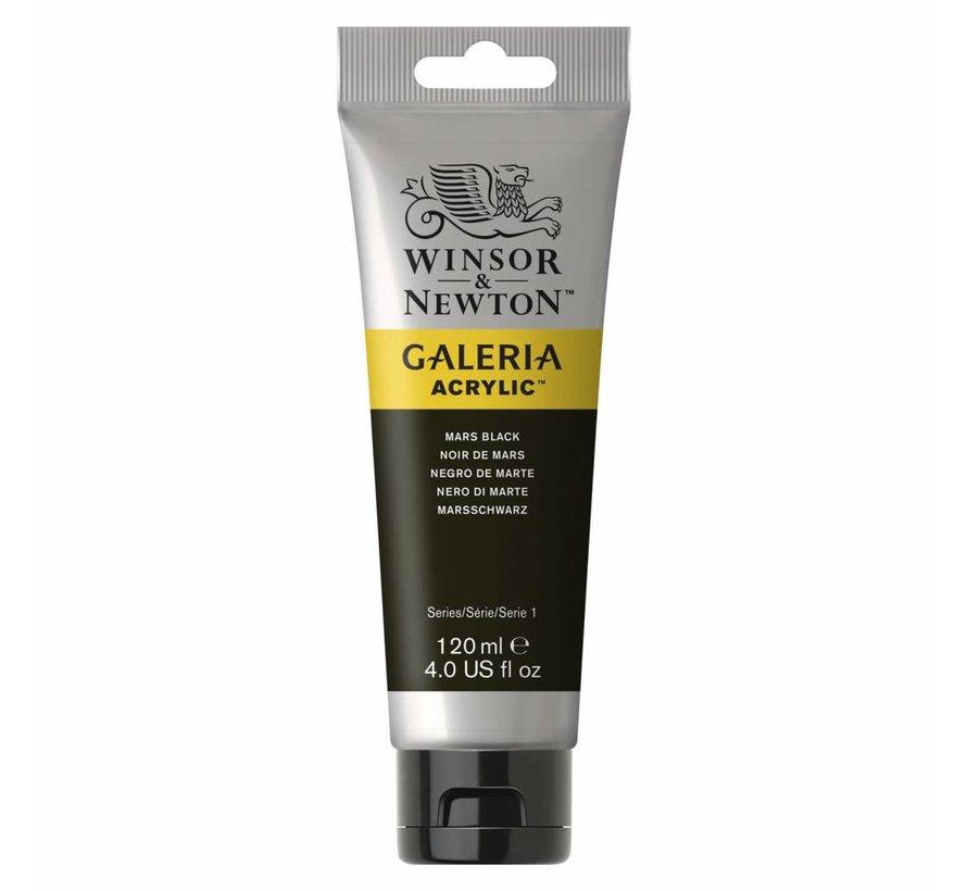 Galeria acrylverf 120ml Mars Black 386
