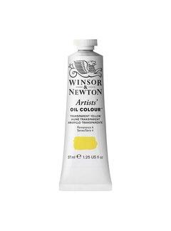 Winsor & Newton W&N Artists olieverf 37ml Transparent Yellow 653