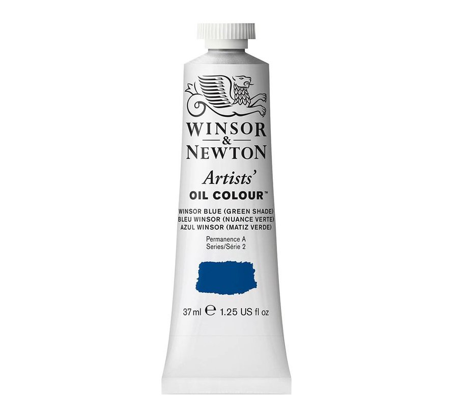 W&N Artists olieverf 37ml Wins Blue (Green Shade)707