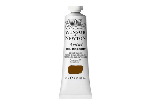 Winsor & Newton W&N Artists olieverf 37ml Burnt Umber